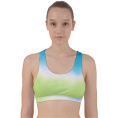 Ombre Back Weave Sports Bra