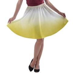 Ombre A Line Skater Skirt