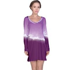 Ombre Long Sleeve Nightdress