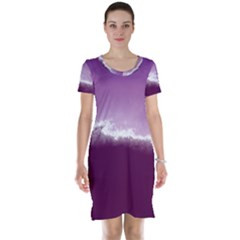 Ombre Short Sleeve Nightdress
