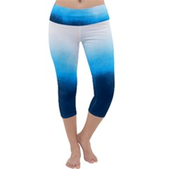 Ombre Capri Yoga Leggings