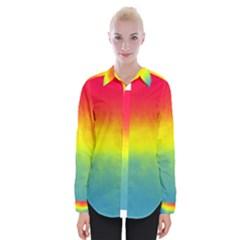 Ombre Womens Long Sleeve Shirt