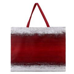 Ombre Zipper Large Tote Bag