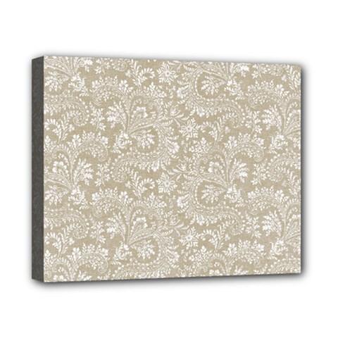 Floral Pattern Canvas 10  X 8