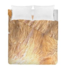 Nova Scotia Duck Tolling Retriever Eyes Duvet Cover Double Side (full/ Double Size)