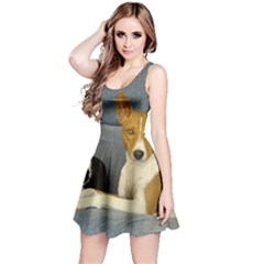 2 Basenjis Reversible Sleeveless Dress