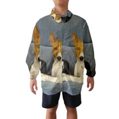 2 Basenjis Wind Breaker (kids)
