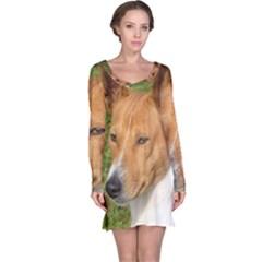 Basenji 2 Long Sleeve Nightdress