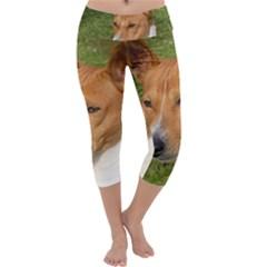 Basenji 2 Capri Yoga Leggings