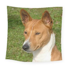 Basenji 2 Square Tapestry (large)