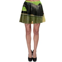 2 Full Flat Coated Retriever Skater Skirt