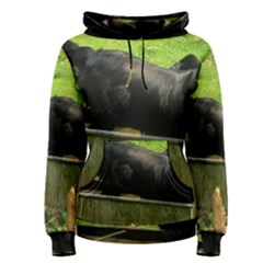 2 Full Flat Coated Retriever Women s Pullover Hoodie