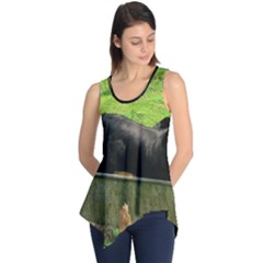 2 Full Flat Coated Retriever Sleeveless Tunic