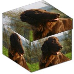 Flat Coated Retriever Storage Stool 12