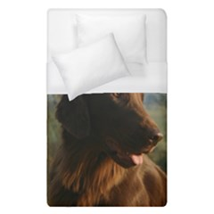 Flat Coated Retriever Duvet Cover (single Size)