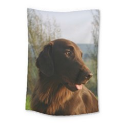 Flat Coated Retriever Small Tapestry