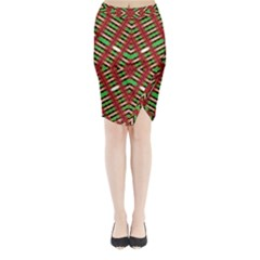 Only One Midi Wrap Pencil Skirt
