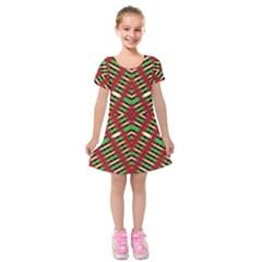 Only One Kids  Short Sleeve Velvet Dress