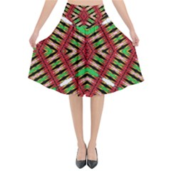 Only One Flared Midi Skirt