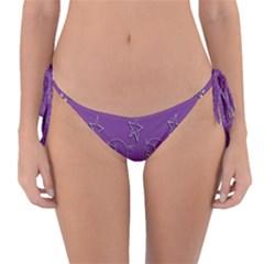 Pig Star Pattern Wallpaper Vector Reversible Bikini Bottom