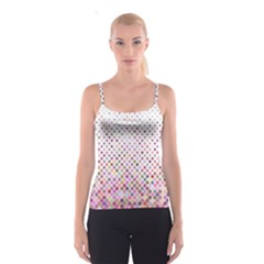Pattern Square Background Diagonal Spaghetti Strap Top