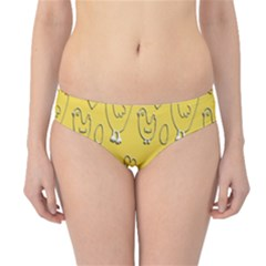 Chicken Chick Pattern Wallpaper Hipster Bikini Bottoms