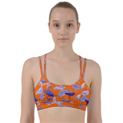 Seagull Gulls Coastal Bird Bird Line Them Up Sports Bra