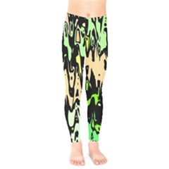 Modern Abstract 46c Kids  Legging