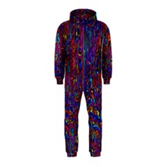 Modern Abstract 45a Hooded Jumpsuit (kids)