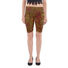 Modern Abstract 45c Yoga Cropped Leggings
