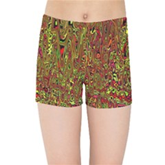Modern Abstract 45c Kids Sports Shorts