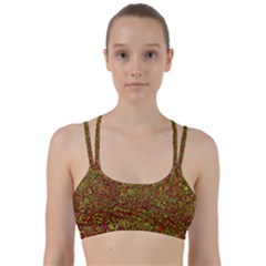 Modern Abstract 45c Line Them Up Sports Bra