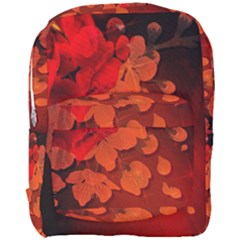 Cherry Blossom, Red Colors Full Print Backpack