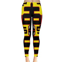 Give Me The Money Classic Winter Leggings