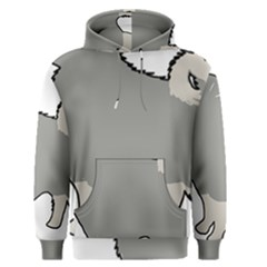 Keeshond Color Silo Men s Pullover Hoodie