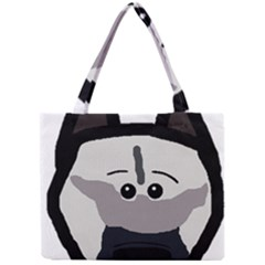 Elkie Dog Head Mini Tote Bag
