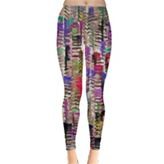 Colorful Shaky Paint Strokes                              Leggings