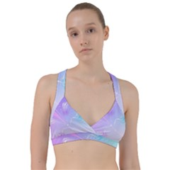 Wings Drawing Soft Background  Sweetheart Sports Bra