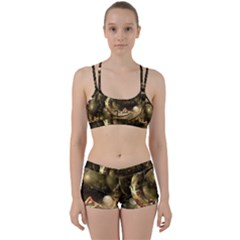 Steampunk Lady  In The Night With Moons Women s Sports Set