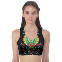 Rain Meets Sun In Soul And Mind Sports Bra