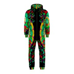 Rain Meets Sun In Soul And Mind Hooded Jumpsuit (kids)