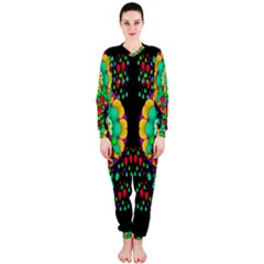 Rain Meets Sun In Soul And Mind Onepiece Jumpsuit (ladies)