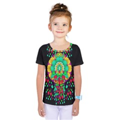 Rain Meets Sun In Soul And Mind Kids  One Piece Tee
