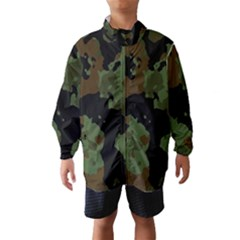 Military Background Texture Surface  Wind Breaker (kids)