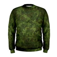 Military Background Spots Texture  Men s Sweatshirt