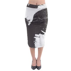 Angel Wings Flower Vector  Midi Pencil Skirt