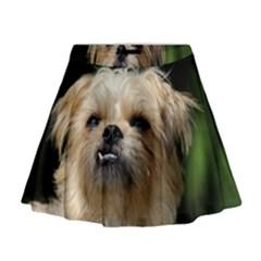 Brussels Griffon Mini Flare Skirt