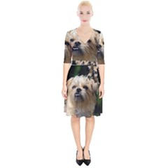 Brussels Griffon Wrap Up Cocktail Dress
