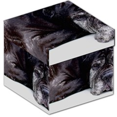 Neapolitan Mastiff Laying Storage Stool 12