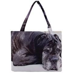 Neapolitan Mastiff Laying Mini Tote Bag